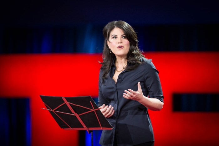 Monica Lewinsky at TED 2015