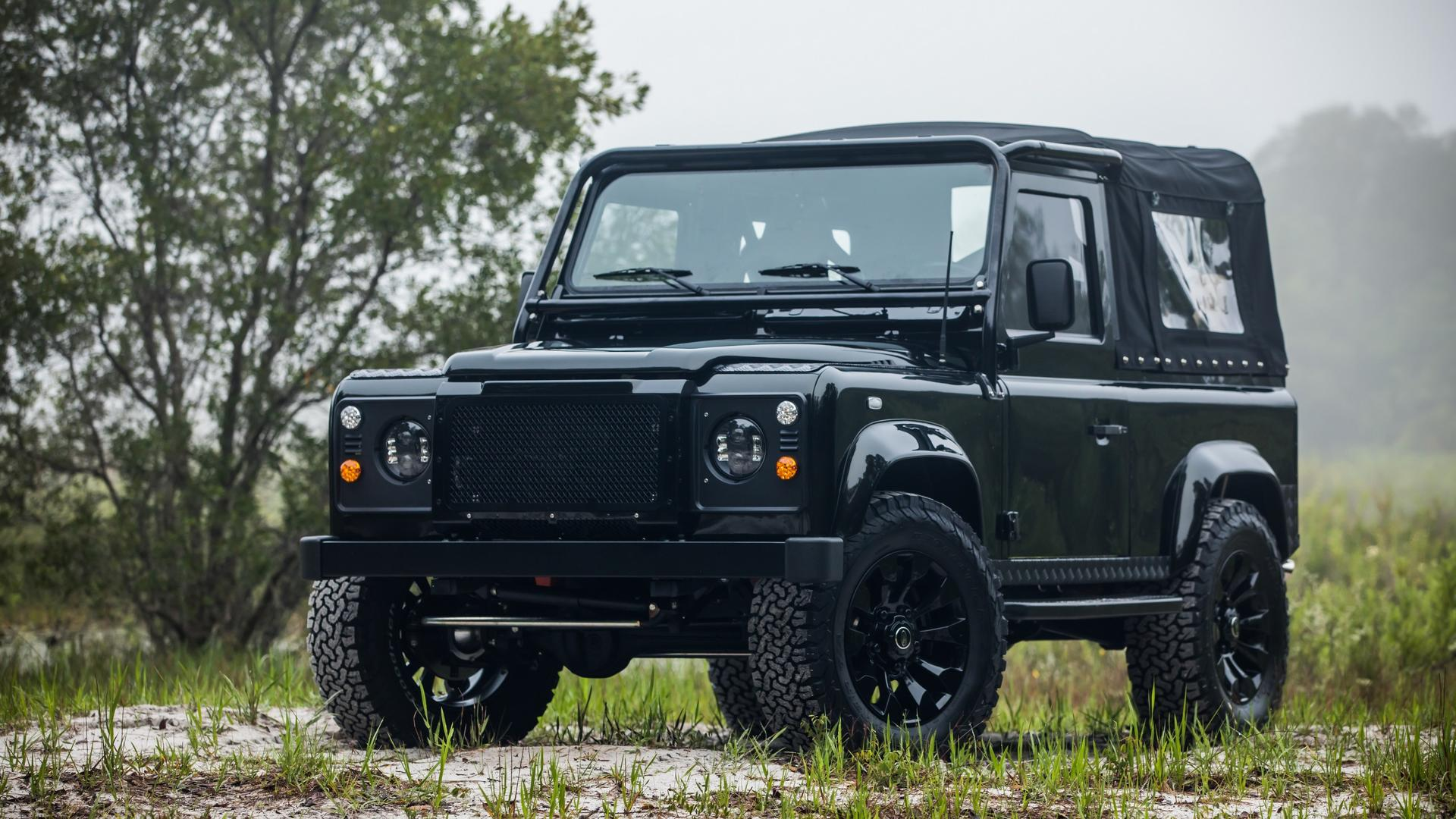 """Video The """"Honey Badger"""" Land Rover Defender Sports An LS3"""