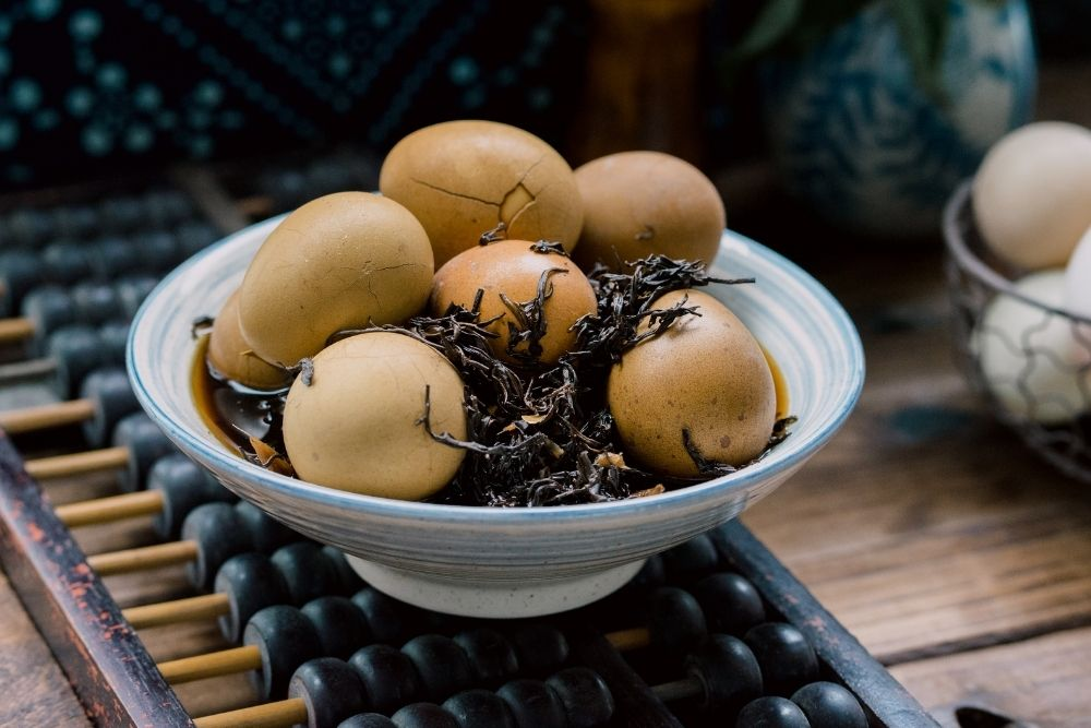 Tea eggs