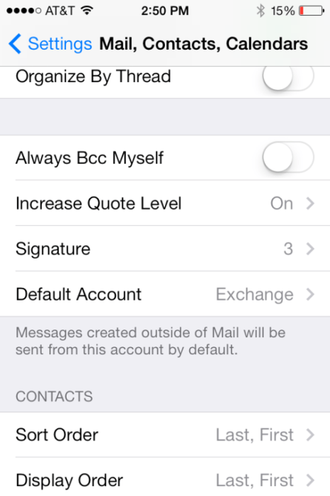iOS Signature Screen Shot 2
