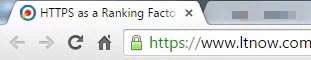 https in url bar of browser