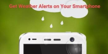 weather alerts smartphone