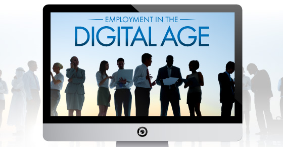 Employment in the digital age Title Image