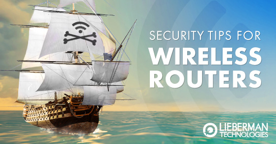security tips for your wireless router