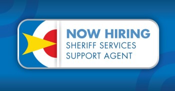Sheriff Services Support Agent Job Posting