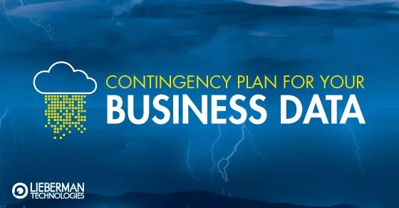 contingency plan for business data