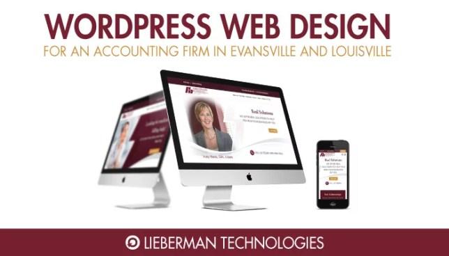 Wordpress Website for Harding Shymanski Accounting Firm