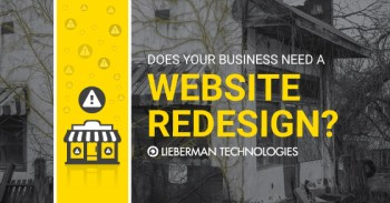 website redesign for small business websites