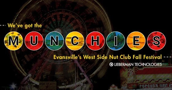 Evansville Fall Festival Munchie Map 2018 | www.picswe.com