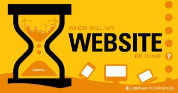 When is my website done?
