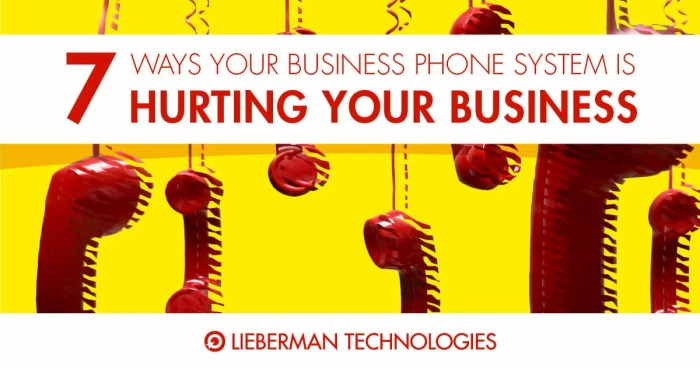 old phone system is hurting your business