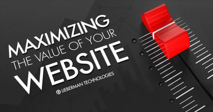 Maximizing the Value of your website