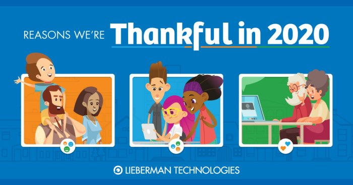 Reasons LT is thankful