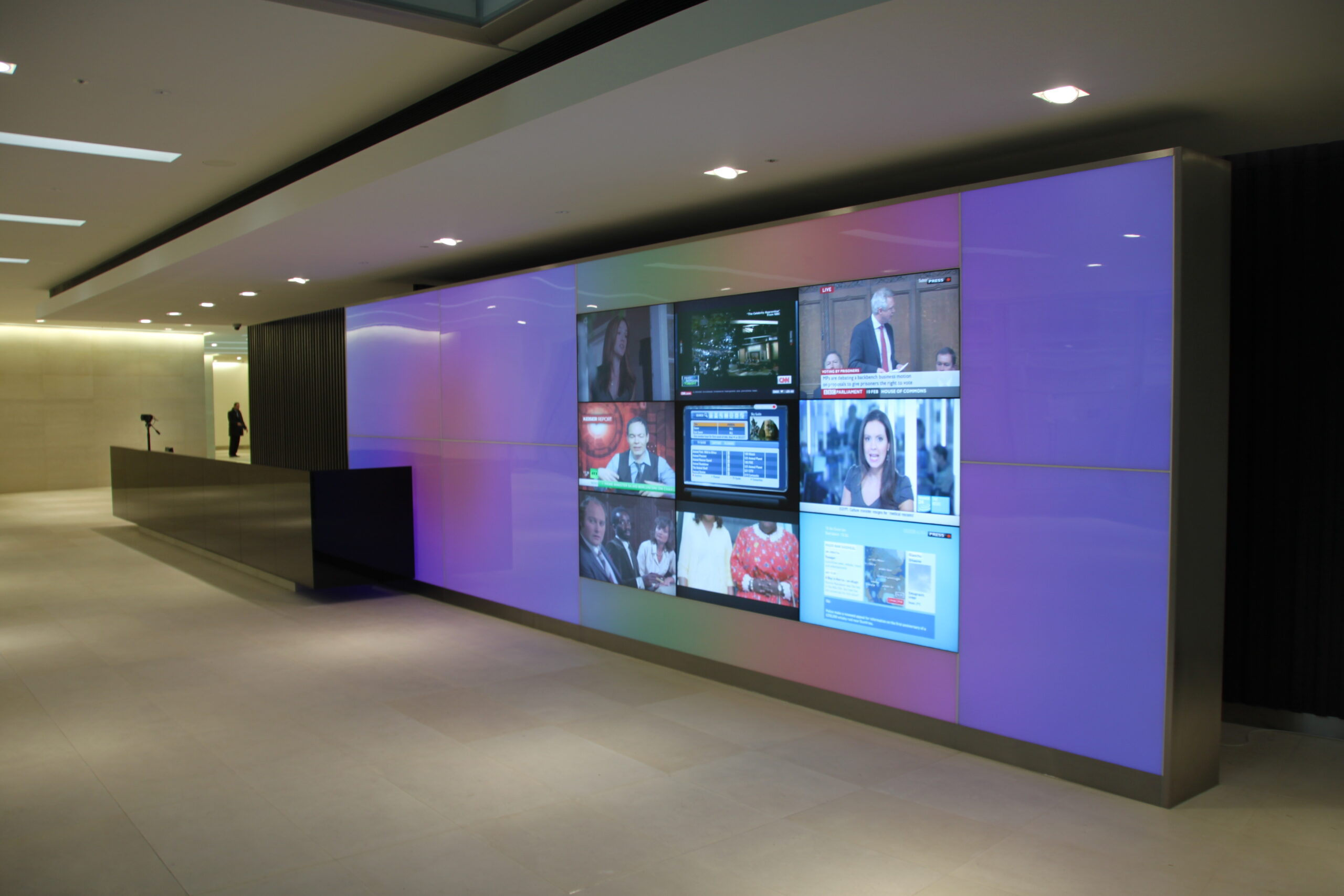 LTP Integration - 110 Fetter Lane - Exterior and Interior Lighting for Buildings