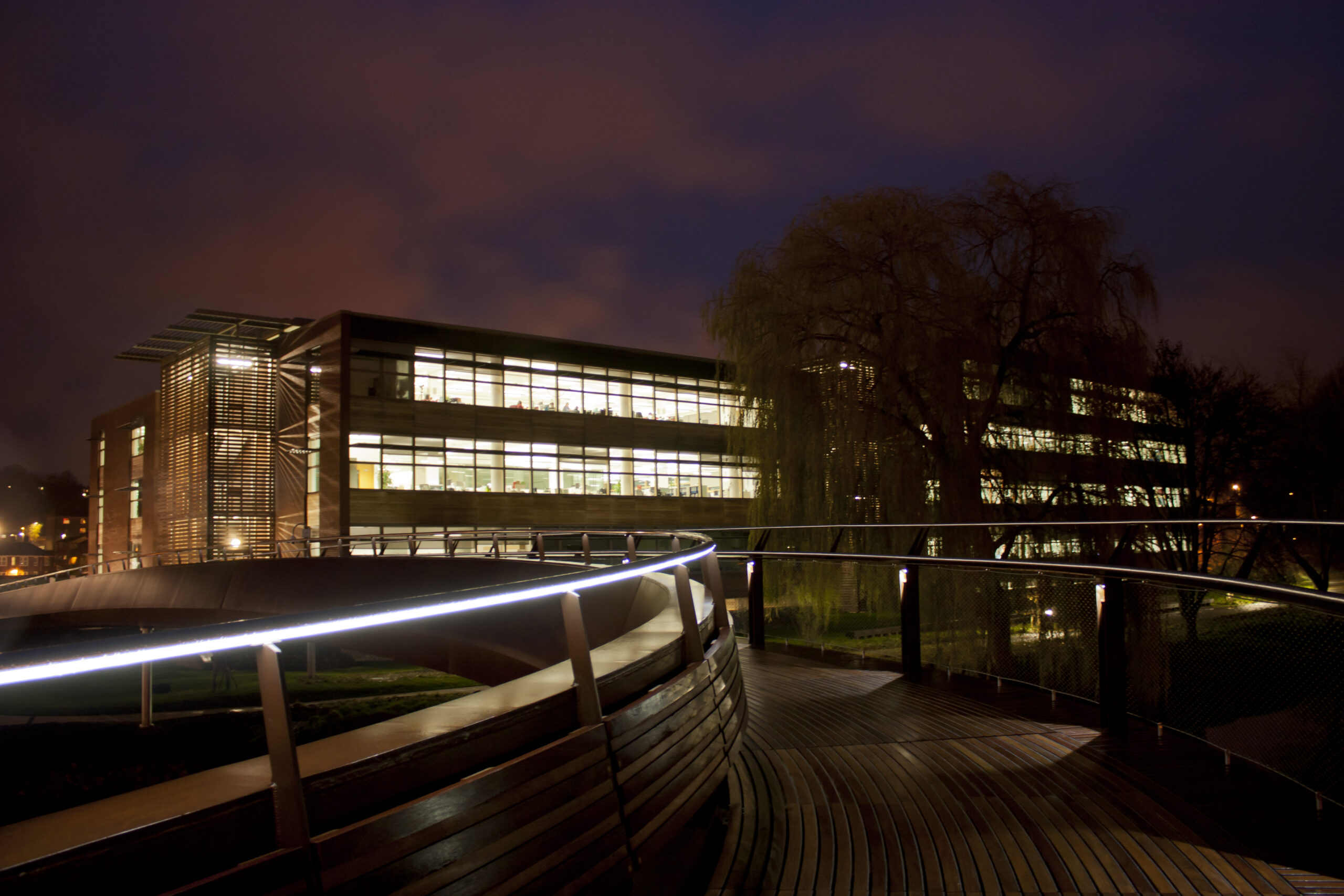 Jarrold Bridge Handrail - Architectural Lighting for Bridges & Walkways