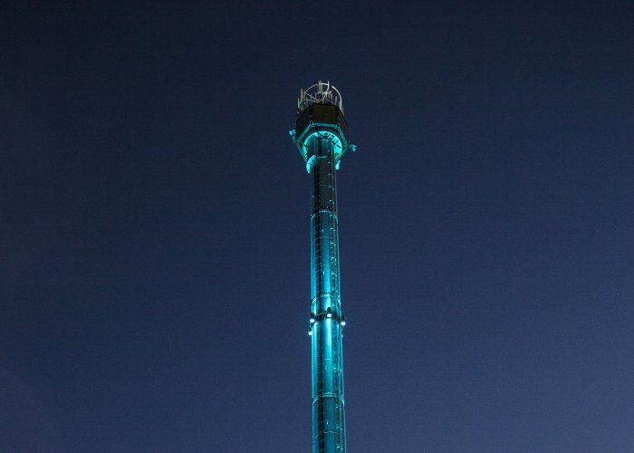 LTP Integration - Architectural Lighting for Structures - Rhyl Sky Tower