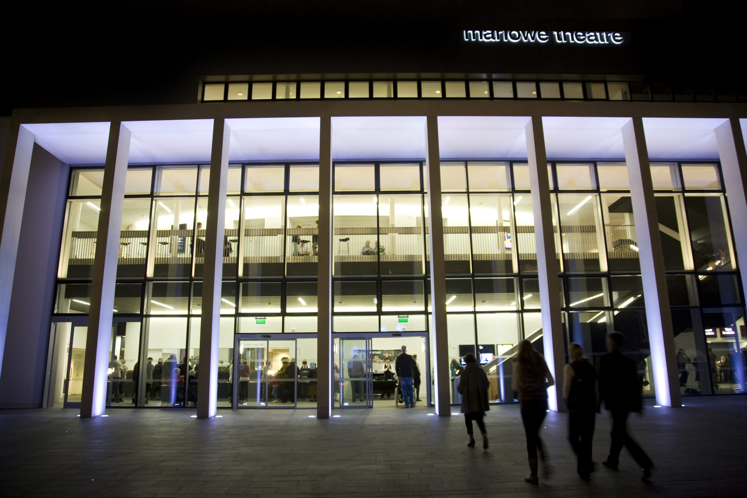 LTP Integration - Exterior and Interior Lighting for Buildings - Marlowe Theatre, Canterbury