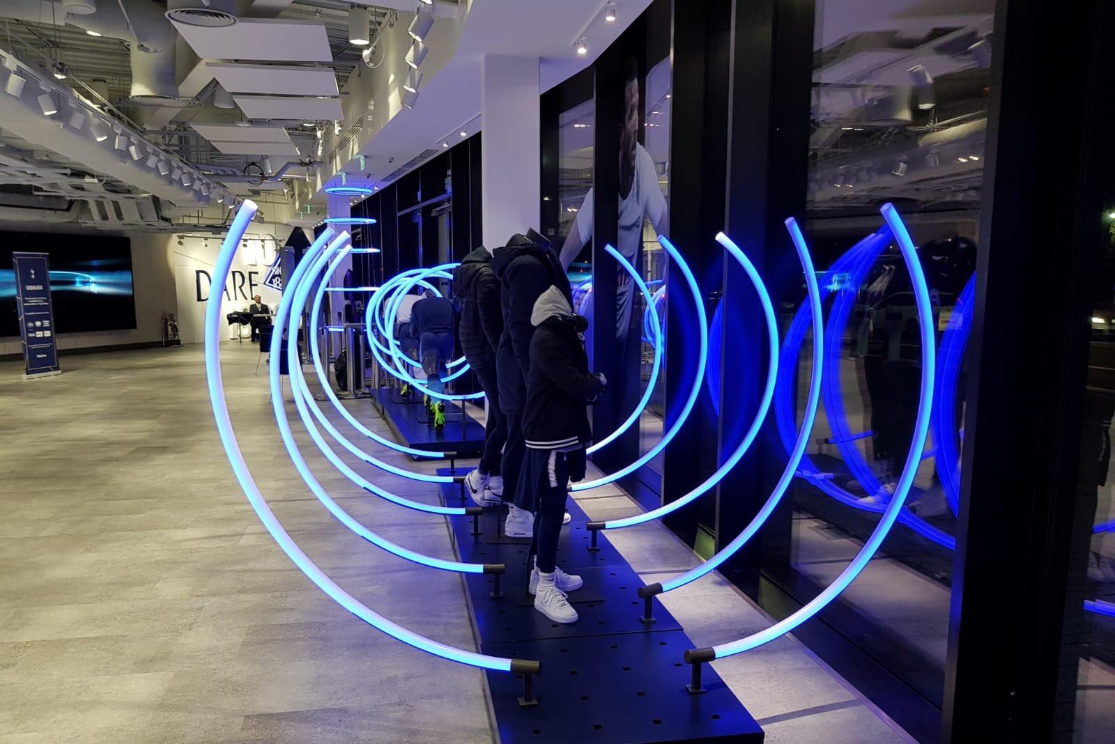 Tottenham Hotspur Stadium Club Shop LED