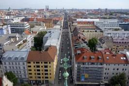 Blick über die Schwanthalerstr. Richtung Altstadt
