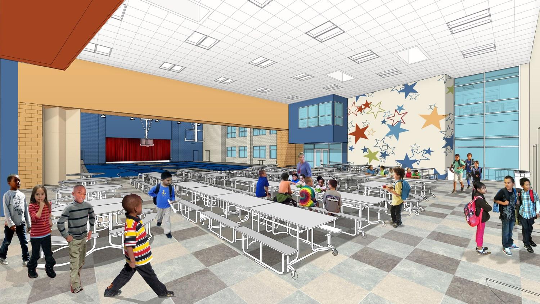 Askew Elementary School - Cafeteria