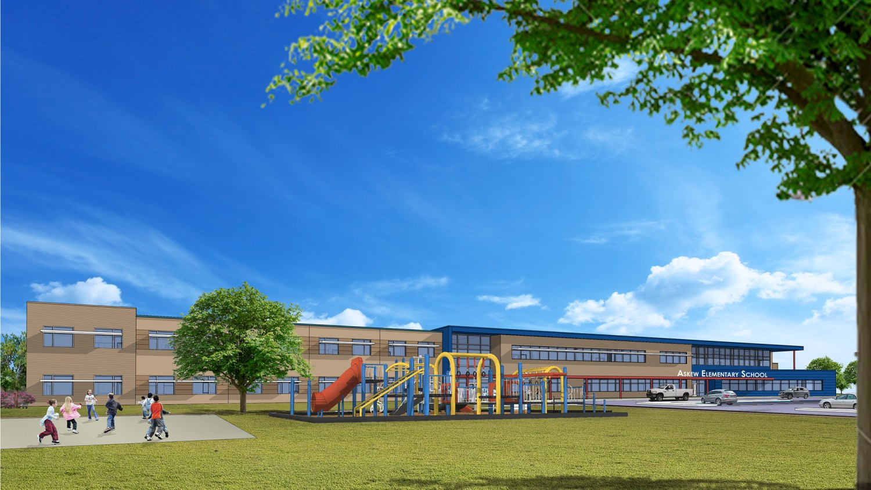 Askew Elementary School - Southeast View B