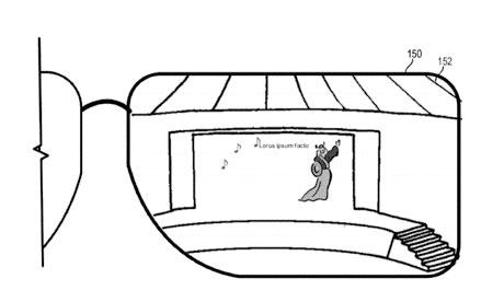 Las gafas de Microsoft ofreciendo letras de canciones en tiempo real