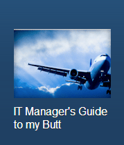 IT Manager's Guide to my Butt