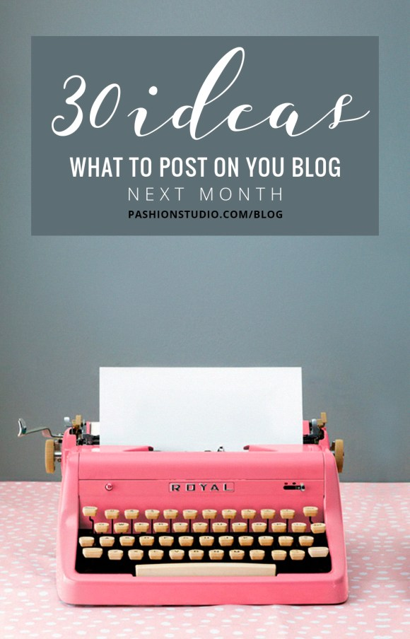 what to post on my personal blog