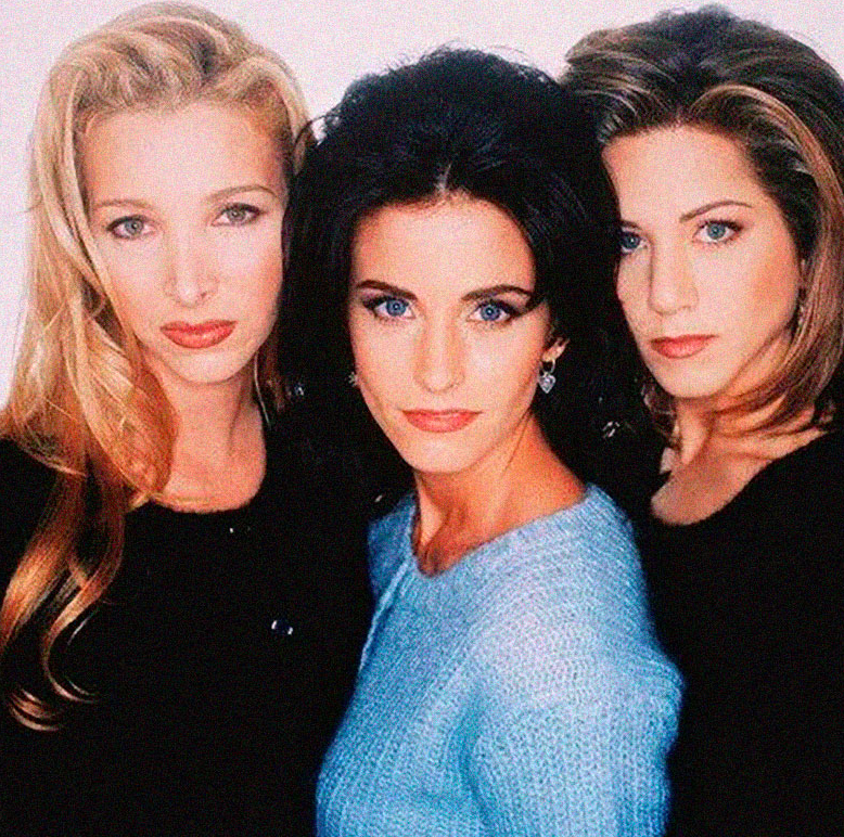 Lisa Kudrow, Courtney Cox & Jennifer Aniston