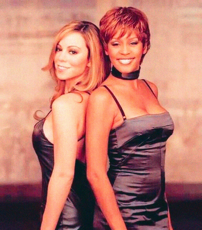 Mariah Carey + Witney Huston