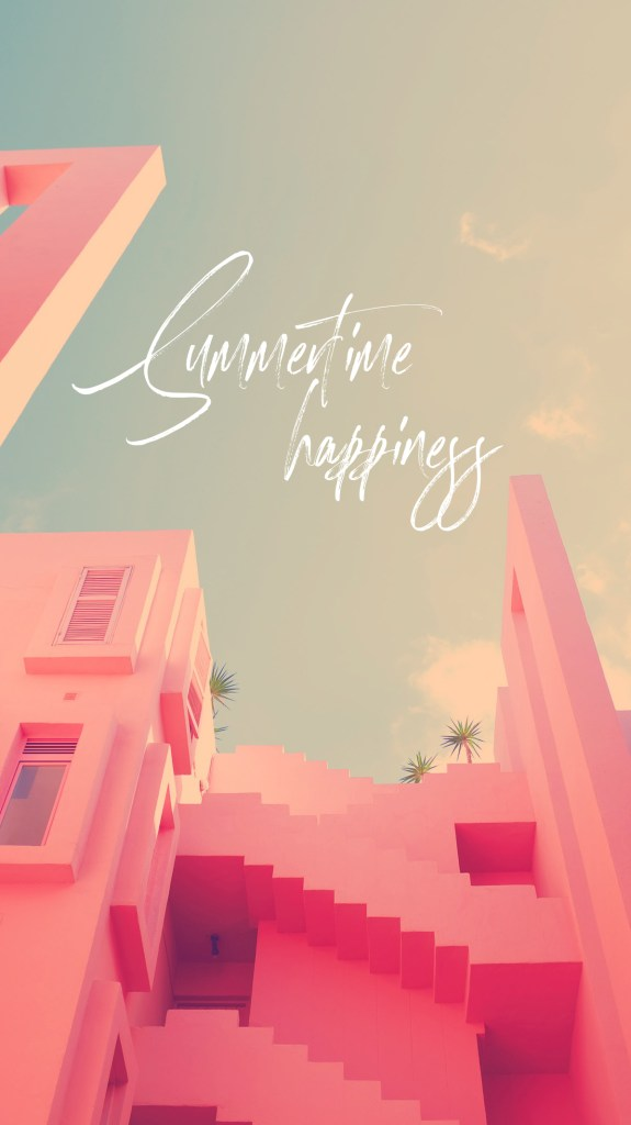 summertime happines instagram stories wallpaper papel de parede celular
