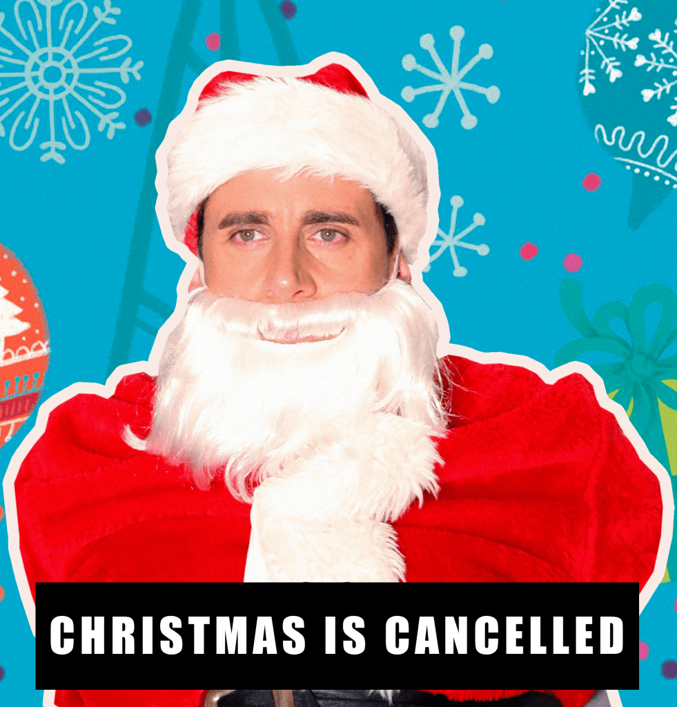 micheal scott the office christmas natal santa claus