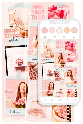 23-pink-instagram-puzzle-feed