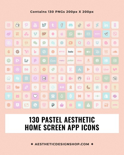 pastel-aesthetic-home-screen-app-icons