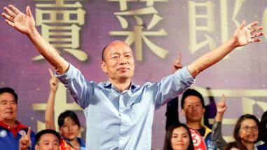 """Image result for Bầu cử Đài Loan: Ứng viên Hàn Quốc Du và chính sách thân TQ"""""""