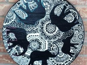 elephant mandala decor for sale
