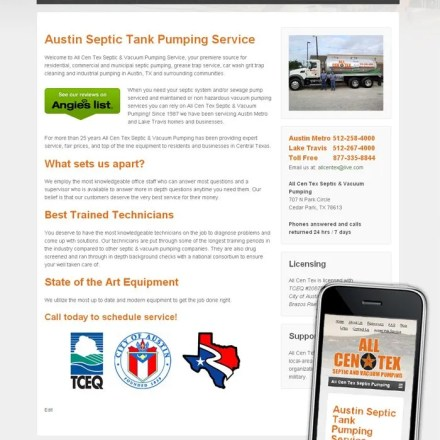 All Cen Tex Septic Pumping