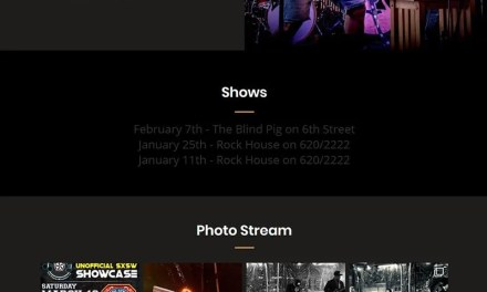 Website for Local Import Band