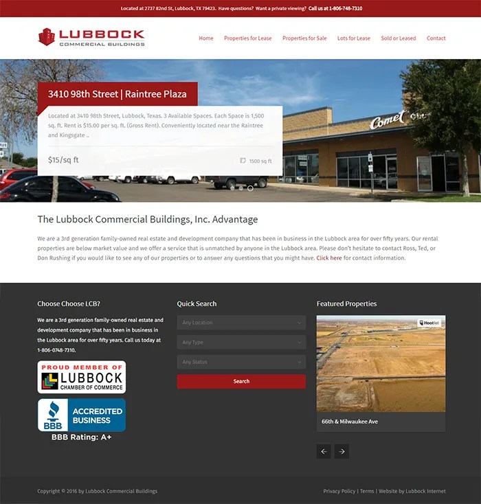 Lubbock Commercial Buildings