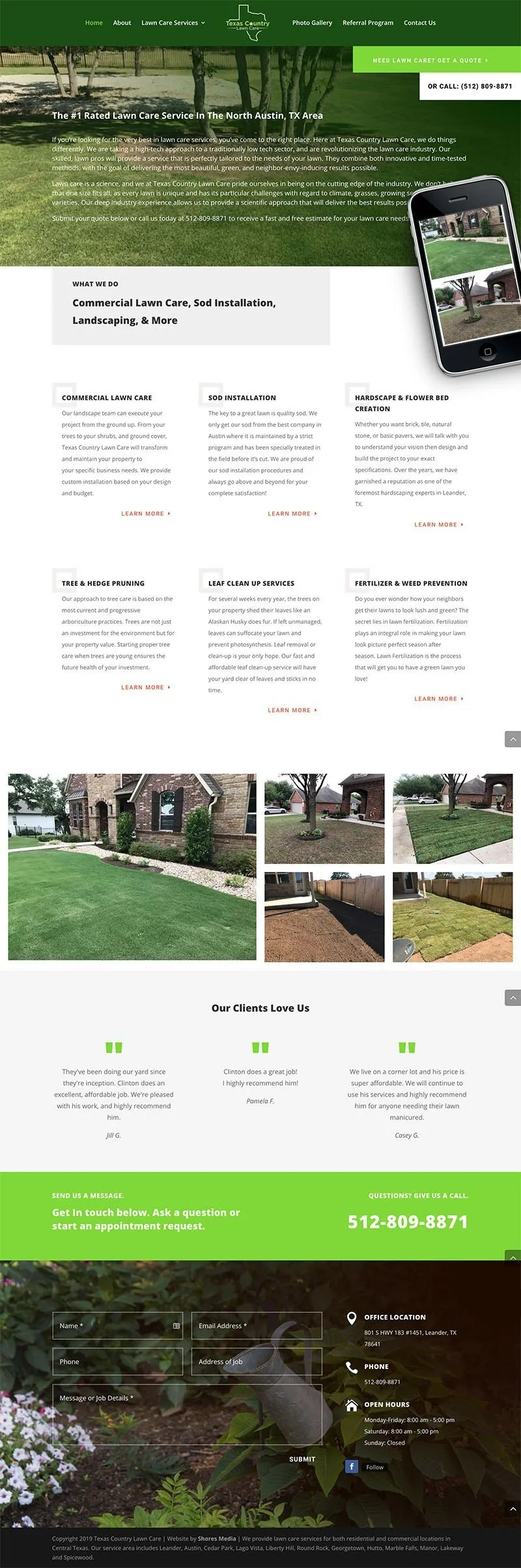 texas country lawncare