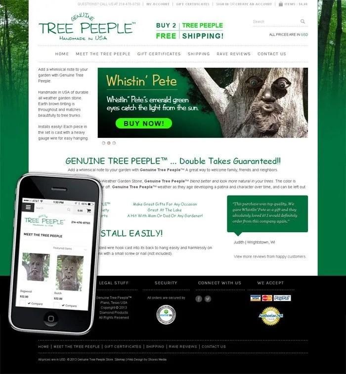 Geuniune Tree Peeple