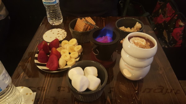 Enjoy! This is the Campfire Kids fondue for 2!