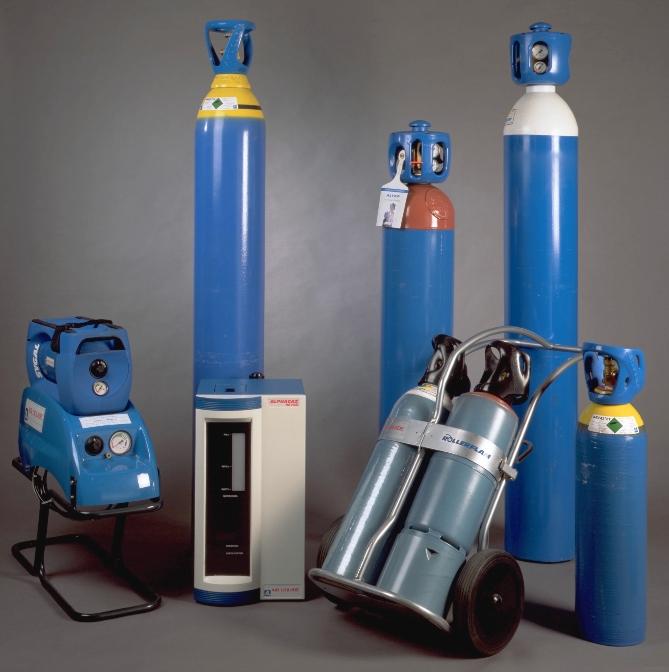 Ossigeno in bombole e pacchi Air Liquide