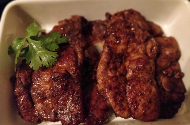 Marinated Pork Neck cuts
