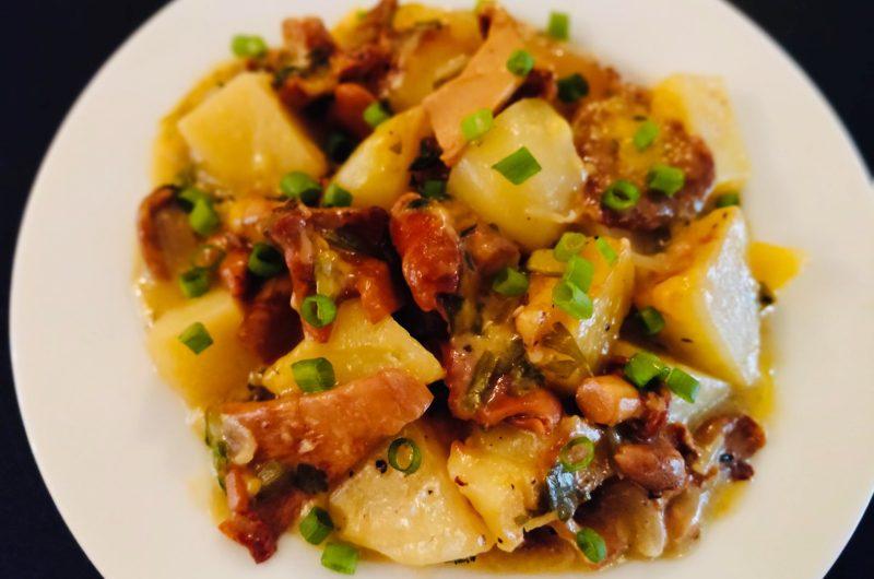 Mushroom & Potato Casserole