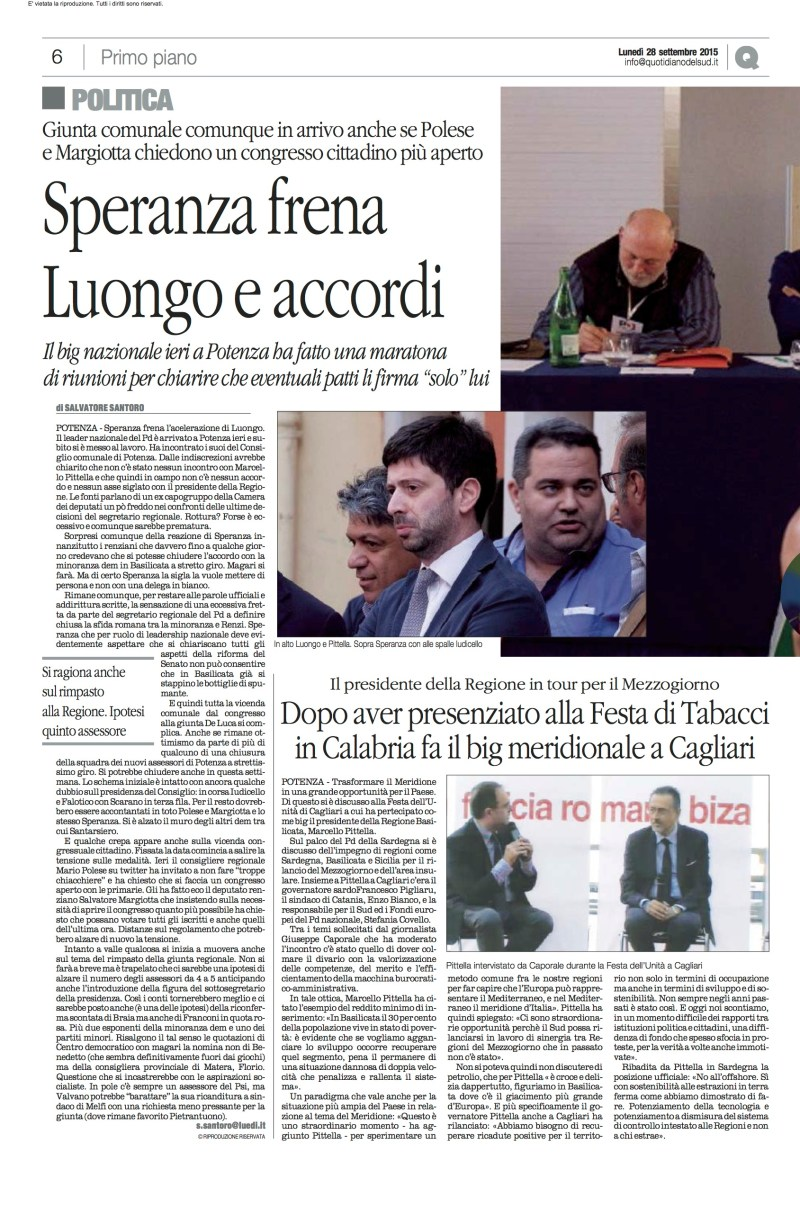 PD REGIONALE 28092015_Quotidiano