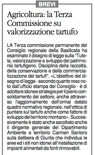TARTUFI quotidiano 08102015