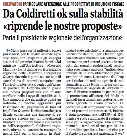 coldiretti nuova 11 01 2016