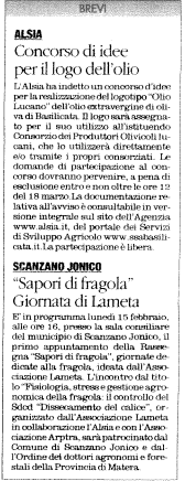 olio + fragola quotidiano 10 02 2016