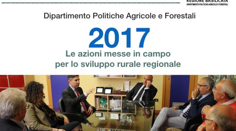 DIPARTIMENTO AGRICOLTURA: 12 MESI DI AZIONI PER LO SVILUPPO RURALE #DipAgriBas